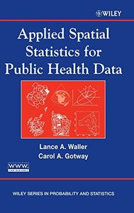 Applied Spatial Statistics for Public Health Data (Hardcover)-cover