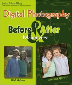 Digital Photography Before & After Makeovers-cover