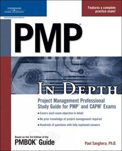 PMP In Depth: Project Management Professional Study Guide for PMP and CAPM Exams (Paperback)-cover