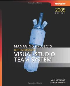 Managing Projects with Microsoft Visual Studio Team System-cover