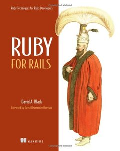 Ruby for Rails: Ruby Techniques for Rails Developers (Paperback)-cover