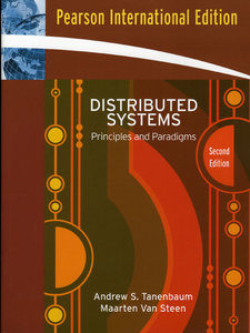 Distributed Systems: Principles and Paradigms, 2/e (IE-Paperback)-cover