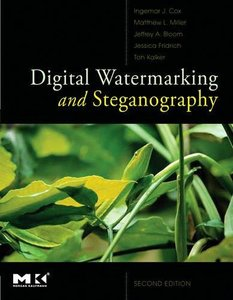 Digital Watermarking and Steganography, 2/e (Hardcover)-cover