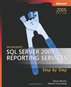 Microsoft SQL Server 2005 Reporting Services Step by Step (Paperback)-cover