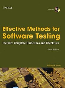 Effective Methods for Software Testing, 3/e-cover