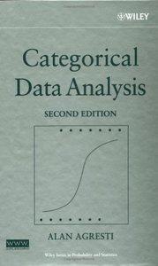 Categorical Data Analysis, 2/e (Hardcover)-cover