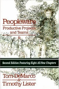 Peopleware : Productive Projects and Teams, 2nd Ed-cover