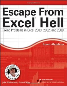 Escape From Excel Hell: Fixing Problems in Excel 2003, 2002 and 2000-cover