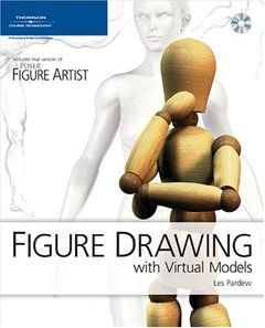 Figure Drawing with Virtual Models: Getting the Most Out of Poser Artist (Paperback)-cover