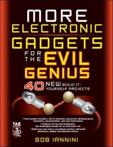 MORE Electronic Gadgets for the Evil Genius, 2/e-cover