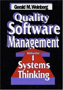 Quality Software Management: Systems Thinking-cover