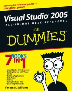 Visual Studio 2005 All-In-One Desk Reference For Dummies-cover