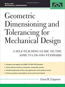 Geometric Dimensioning and Tolerancing for Mechanical Design-cover