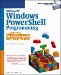 Microsoft Windows Powershell Programming for the Absolute Beginner (Paperback)-cover