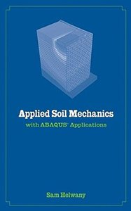 Applied Soil Mechanics with ABAQUS Applications-cover