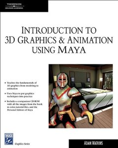 Introduction to 3D Graphics & Animation Using Maya-cover