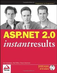 ASP.NET 2.0 Instant Results-cover
