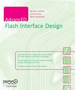 AdvancED Flash Interface Design (Paperback)-cover