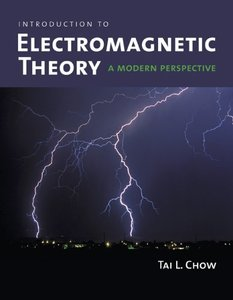 Introduction to Electromagnetic Theory: A Modern Perspective-cover