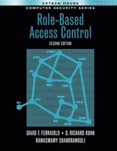 Role-Based Access Control, 2/e-cover