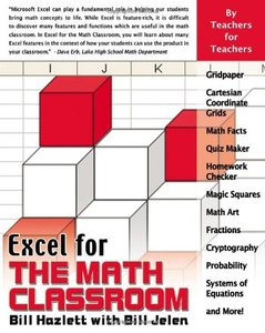 Excel for the Math Classroom (Excel for Professionals series)-cover