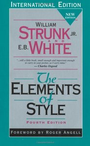 The Elements of Style, 4/e (IE-Paperback)-cover