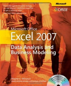 Microsoft Office Excel 2007: Data Analysis and Business Modeling (Paperback)-cover