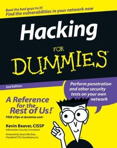 Hacking For Dummies, 2/e-cover