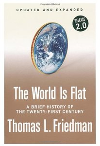 The World Is Flat [Updated and Expanded]: A Brief History of the Twenty-first Century (平裝)-cover