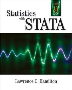 Statistics with STATA, 6/e-cover