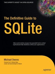The Definitive Guide to SQLite-cover