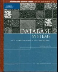 Database Systems: Design, Implementation, and Management, 7/e