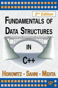 Fundamentals of Data Structures in C++, 2/e (Paperback)-cover