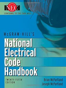 National Electrical Code Handbook, 25/e-cover