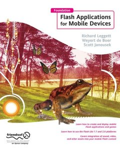 Foundation Flash Applications for Mobile Devices (Paperback)-cover