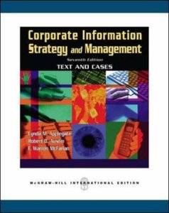 Corporate Information Strategy and Management: Text and Cases, 7/e (IE)-cover