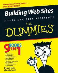 Building Web Sites All-in-One Desk Reference For Dummies-cover