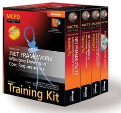 MCPD Self-Paced Training Kit (Exams 70-536, 70-526, 70-548): Microsoft  .NET Framework Windows  Developer Core Requirements-cover