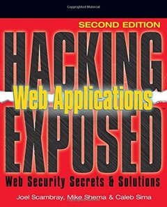 Hacking Exposed Web Applications, 2/e (Paperback)-cover