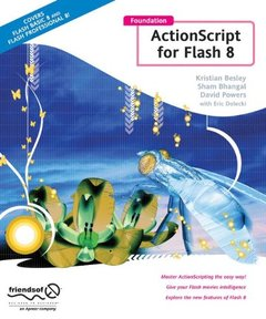 Foundation ActionScript for Flash 8 (Paperback)-cover