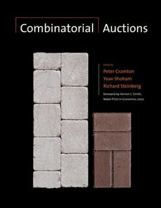 Combinatorial Auctions (Hardcover)-cover