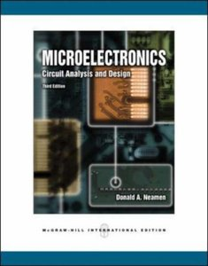 Microelectronic Circuit Analysis and Design, 3/e (IE)-cover