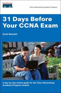 31 Days Before Your CCNA Exam: A Day-by-Day Quick Reference Study Guide-cover