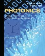 Photonics: Optical Electronics in Modern Communications, 6/e (Hardcover)-cover