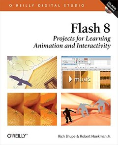 Flash 8: Projects for Learning Animation and Interactivity-cover
