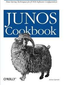 JUNOS Cookbook (Paperback)-cover