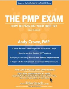 The PMP Exam: How to Pass On Your First Try, 3/e-cover