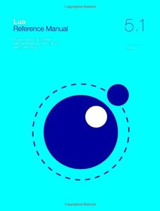 Lua 5.1 Reference Manual-cover