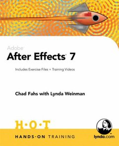 Adobe After Effects 7 Hands-On Training (Paperback)-cover