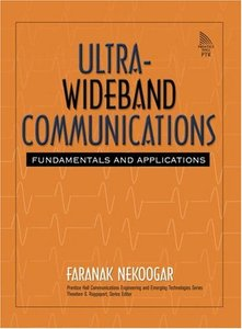 Ultra-Wideband Communications: Fundamentals and Applications-cover